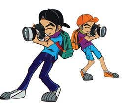 #121 for Photographer Cartoon Character af mdmokibur