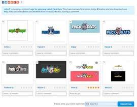 Akashkhan360 tarafından Help Pick a logo. Everyone Gets Paid! Prize Divided -Pack Rats- Poll için no 92