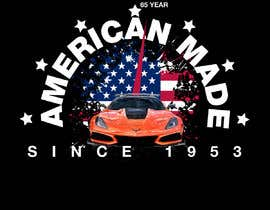 #34 for Corvette American Made Tee Shirt by Shtofff