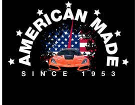 #39 for Corvette American Made Tee Shirt by Shtofff