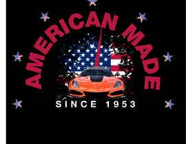 #50 for Corvette American Made Tee Shirt by Shtofff
