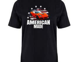 #33 for Corvette American Made Tee Shirt by jhess31