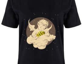 #4 cho Tshirt with Logo of Angel eating Avocado Toast bởi MohamedAdelMo