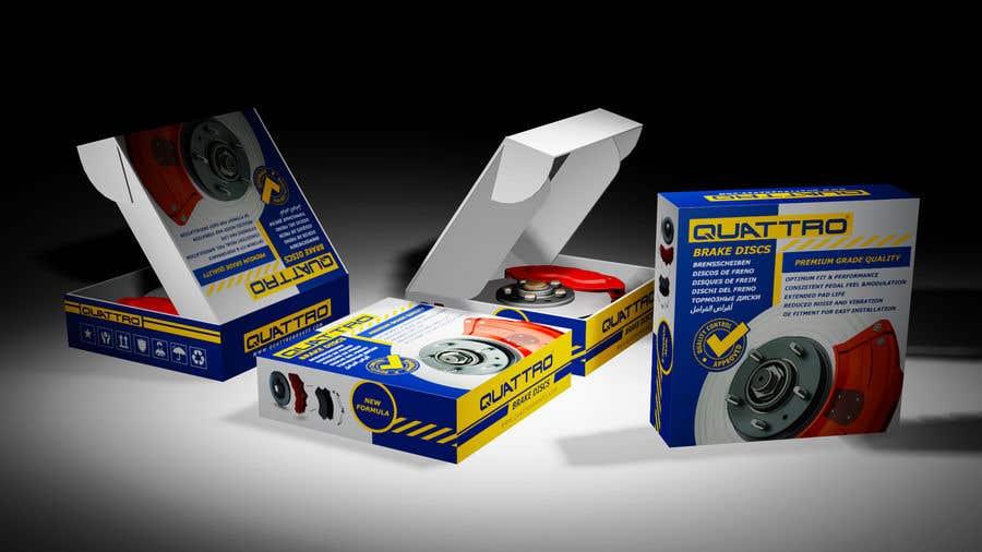 "Intrarea #12 pentru concursul ""Prepare packaging for Brake Pads and Brake Discs"""