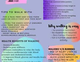 #16 для Poster design for wellcure - Put down the remote and go for a walk. от Bellaamli