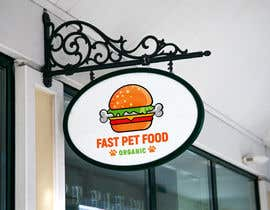 #1487 for LOGO - Fast food meets pet food (modern, clean, simple, healthy, fun) + ongoing work. by rokonranne