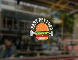 #1823 untuk LOGO - Fast food meets pet food (modern, clean, simple, healthy, fun) + ongoing work. oleh rokonranne