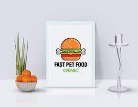 #2049 untuk LOGO - Fast food meets pet food (modern, clean, simple, healthy, fun) + ongoing work. oleh rokonranne