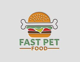 #572 , LOGO - Fast food meets pet food (modern, clean, simple, healthy, fun) + ongoing work. 来自 afndesignbd