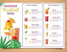 #16 para A5 Menu design for Ice cream, Juice bar por badriaabuemara