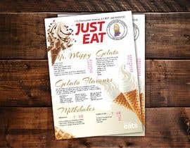 #13 para A5 Menu design for Ice cream, Juice bar por Crussader