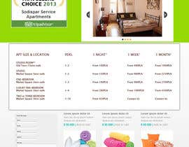 #5 cho WordPress responsive one page website for Apartment rentals bởi iamx2011