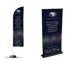 """#47 for Design a """"Banner Flag"""" and """"Pull up Banner"""" for an outdoor event by manjegraphics"""