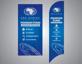 """#17 for Design a """"Banner Flag"""" and """"Pull up Banner"""" for an outdoor event by SmartBlackRose"""