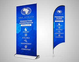 """#45 for Design a """"Banner Flag"""" and """"Pull up Banner"""" for an outdoor event by SmartBlackRose"""