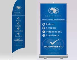 """#35 for Design a """"Banner Flag"""" and """"Pull up Banner"""" for an outdoor event by aliazadaknd"""