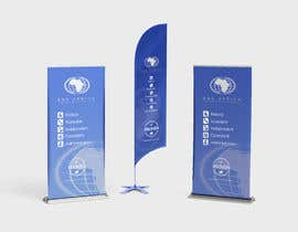 """#7 for Design a """"Banner Flag"""" and """"Pull up Banner"""" for an outdoor event by uxmanaleem"""