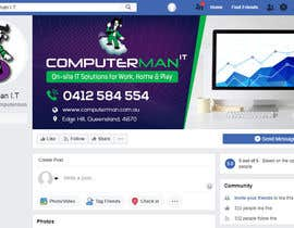 #142 untuk Re-design Facebook business page with Banners & art oleh RomanaMou