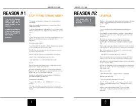 Nro 10 kilpailuun I need eBook Content Pages Designed käyttäjältä gulenigar
