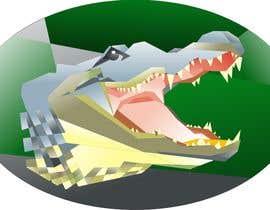 #33 untuk Cubist gator oleh manikmoon