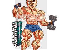 #122 for Cartoonist Job for Funny Bodybuilder Drawings (CONTEST for selection) - 10/04/2019 01:27 EDT af orrlov