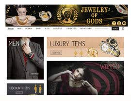 #185 for Banner for Jewel Website by shorna99