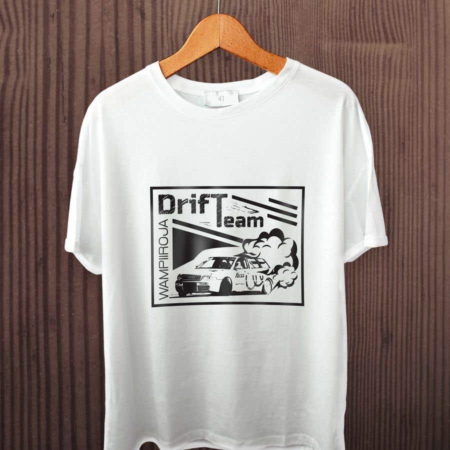 Kilpailutyö #26 kilpailussa Design a Logo/T-shirt/Hoodie for a drift team