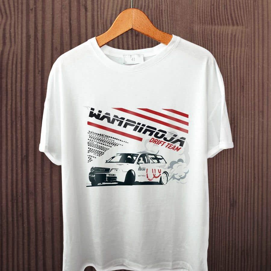 Kilpailutyö #38 kilpailussa Design a Logo/T-shirt/Hoodie for a drift team