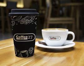 nº 32 pour Paper coffee cup design par FALL3N0005000