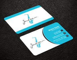 #129 for Design business cards for musician - Saxophone - Logo available by patitbiswas