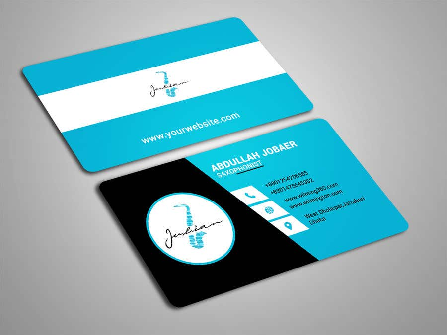 Contest Entry #94 for Design business cards for musician - Saxophone - Logo available