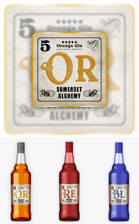 Konkurrenceindlæg #39 for Label for liquor company