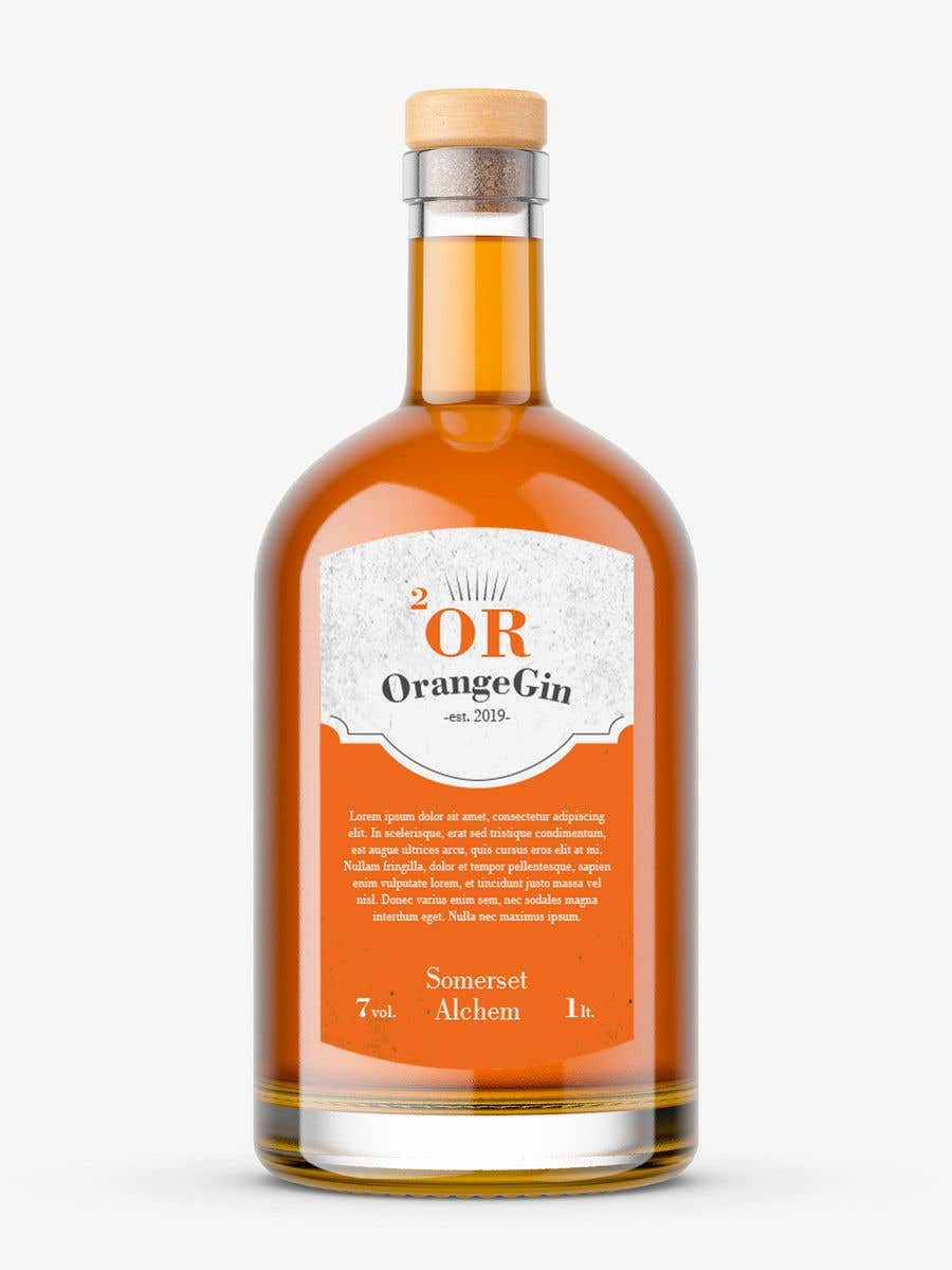 Konkurrenceindlæg #6 for Label for liquor company