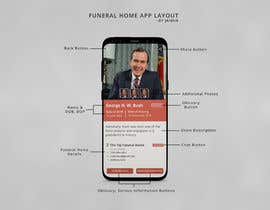 #34 for Graphic Design Layout For Funeral Home App (The Contest is for the homepage of the App Only) Additional pages based off design by jaiminkataria