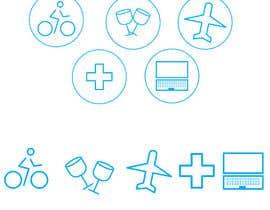 #35 for Create Icons by JunaidFatyana