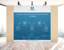 #3 for Design a backdrop display banner (10'x10') by lunaakter