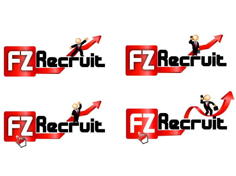 Kilpailutyö #                                        29                                      kilpailussa                                         Logo Design for a recruitment software