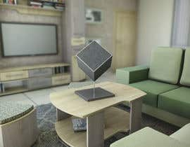 #126 for Photo Realistic Rendering of 3D Cube on photo realistic table by ya5285