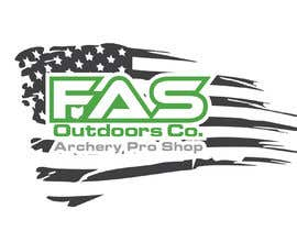 #37 untuk I need an American Flag laid in the background of my logo for a T Shirt design oleh designerjalaludd