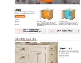 nº 6 pour SEO Power Page idea for Cabinet Hardware site par ktechint
