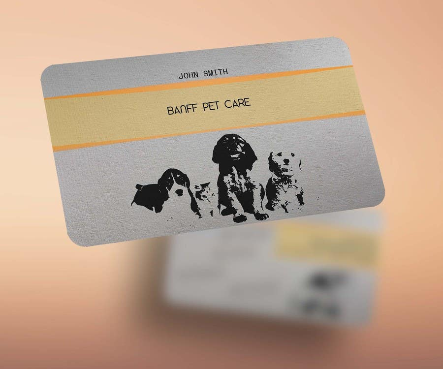 Entry 30 By Gss1122 For Design Some Business Cards For Banff Pet