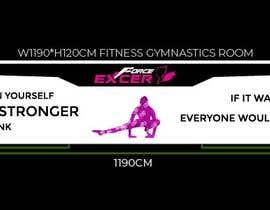 #77 untuk ladies fitness sports gym wall poster designs  - 15/04/2019 04:04 EDT oleh Aadarshsharma