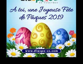 #63 for Happy Easter design - 2019 by savitamane212