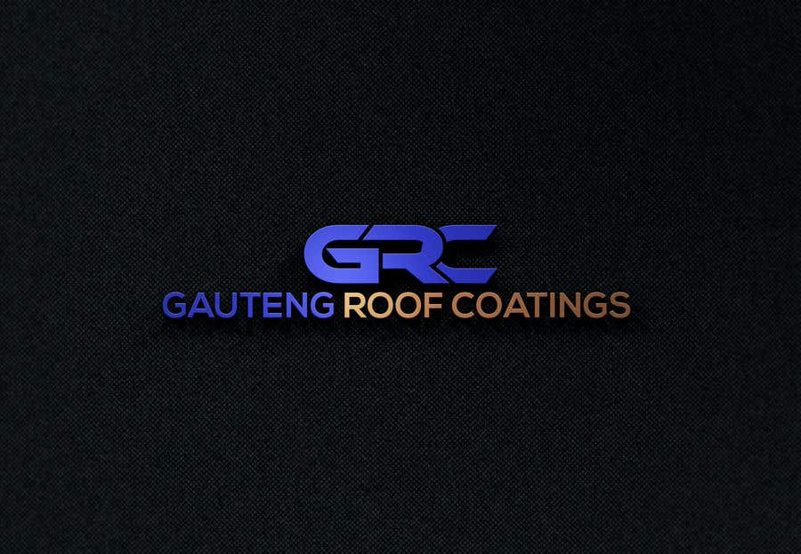 Konkurrenceindlæg #5 for Gauteng Roof Coatings Logo Design