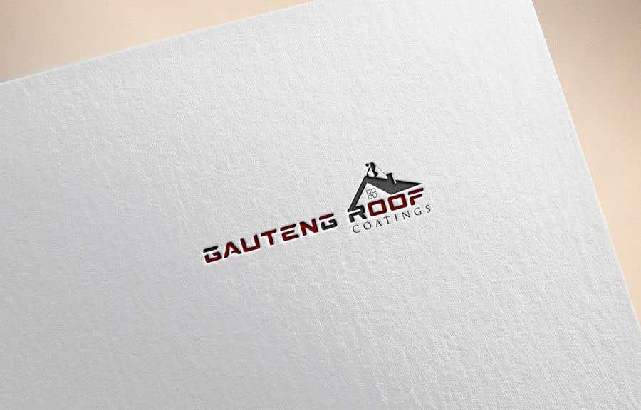 Konkurrenceindlæg #19 for Gauteng Roof Coatings Logo Design