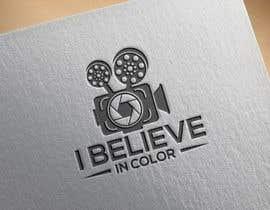 #84 cho Create company logo for video / photography studio. I Believe in Color bởi kamrunn115