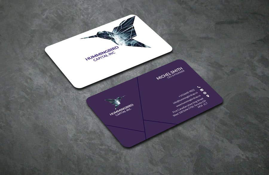 Kilpailutyö #532 kilpailussa Business card