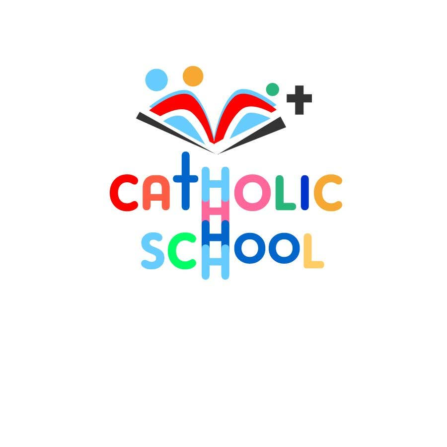 Contest Entry #23 for Recreate this Logo for  Catholic School