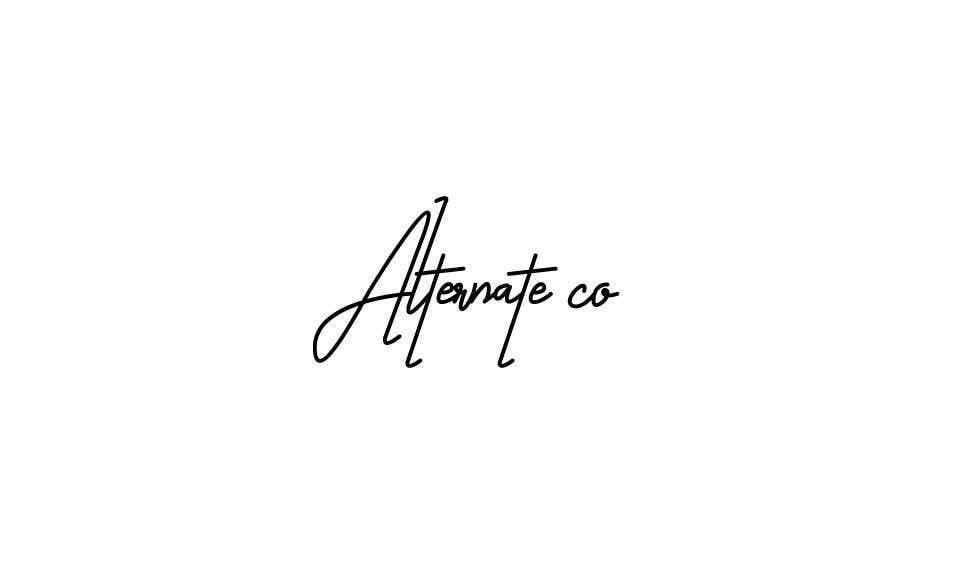 Proposition n°7 du concours font/logo design for clothing brand