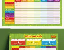 #23 for Design a kids reward chart in a3 size af ReallyCreative